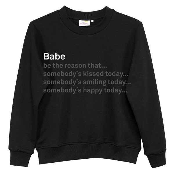 """NISAWI Pullover """"Babe"""""""