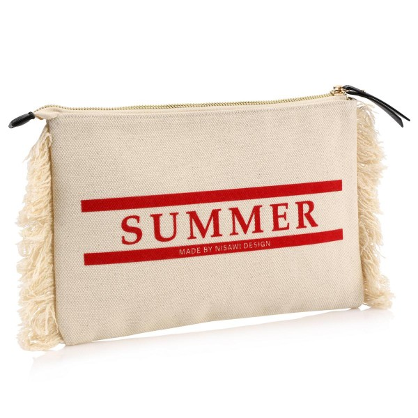 NISAWI Summer Clutch (natur)