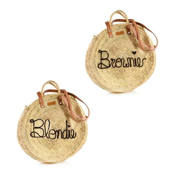 """Rundkorb-Set """"Blondie & Brownie"""""""