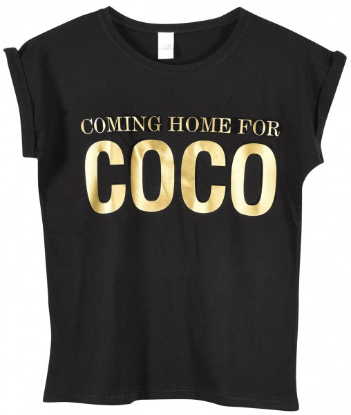 """T-Shirt """"Coming Home for Coco"""""""