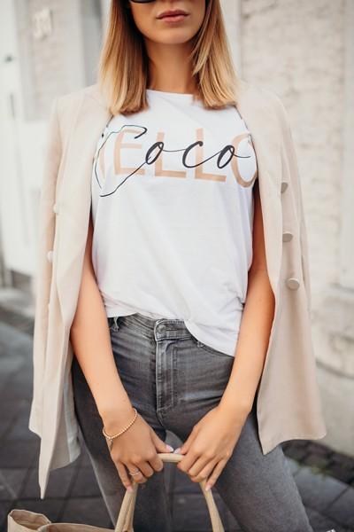 "NISAWI T-Shirt ""Hello Coco"""