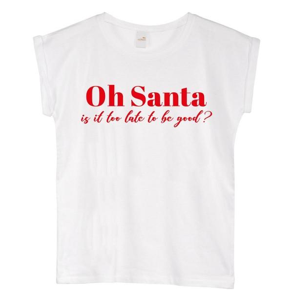 """T-Shirt """"Oh Santa"""""""