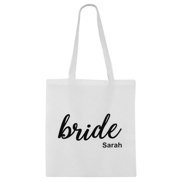 """Jutebeutel """"Bride"""""""