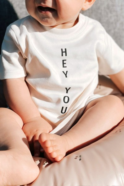 "Baby/Kids T-Shirt ""HEY YOU"""