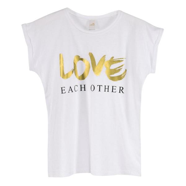"T-Shirt ""Love Each Other"""