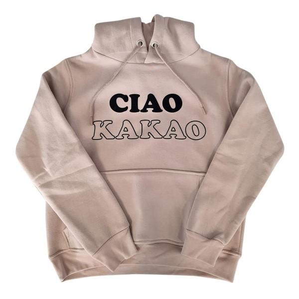 "Hoodie Sample ""Ciao Kakao"" beige"