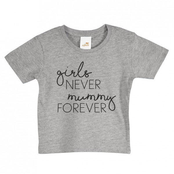 "Baby/Kids T-Shirt ""Girls never"""