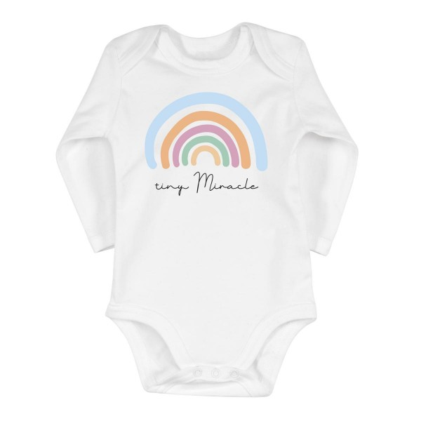 "Baby-Strampler ""Tiny Miracle"""