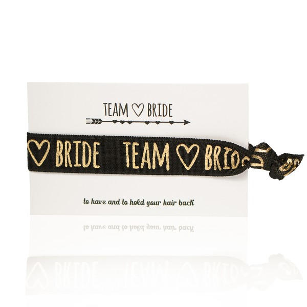 "Haargummi ""Team Bride"""