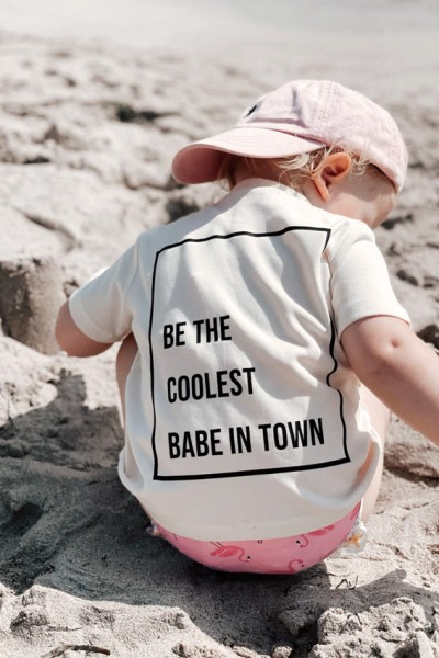 """Baby/Kids T-Shirt """"Coolest babe in town"""""""