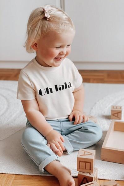 "Baby/Kids T-Shirt ""Oh lala"""