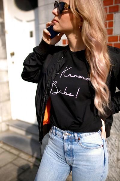 "NISAWI T-Shirt ""It´s Karma Babe"""
