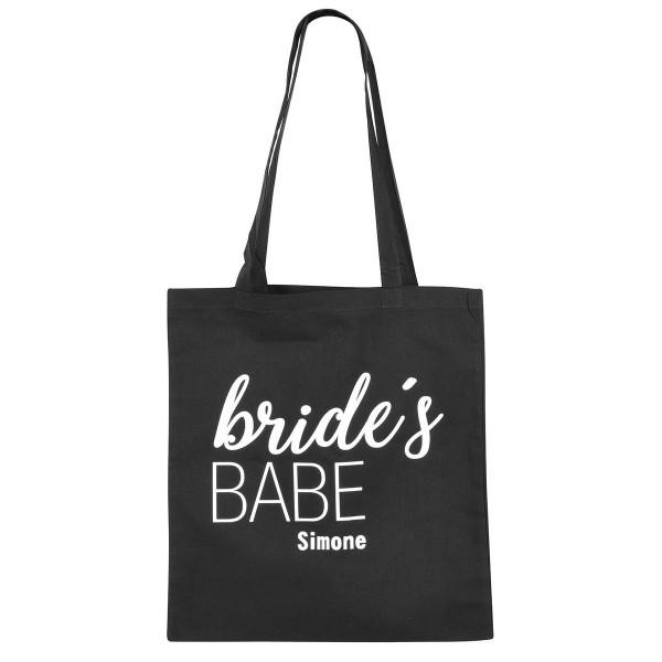 """Jutebeutel """"Bride's Babe"""""""