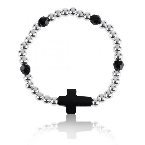 "Armband ""Kreuz Silber"""