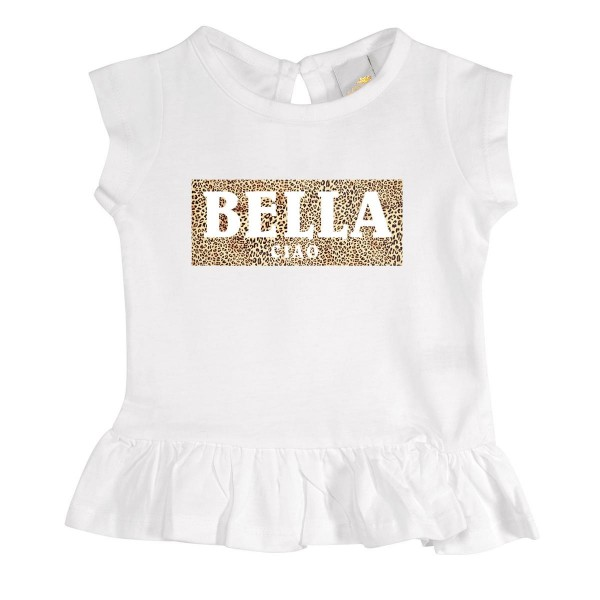 """Mädchen T-Shirt mit Rüschen """"Bella Ciao"""""""