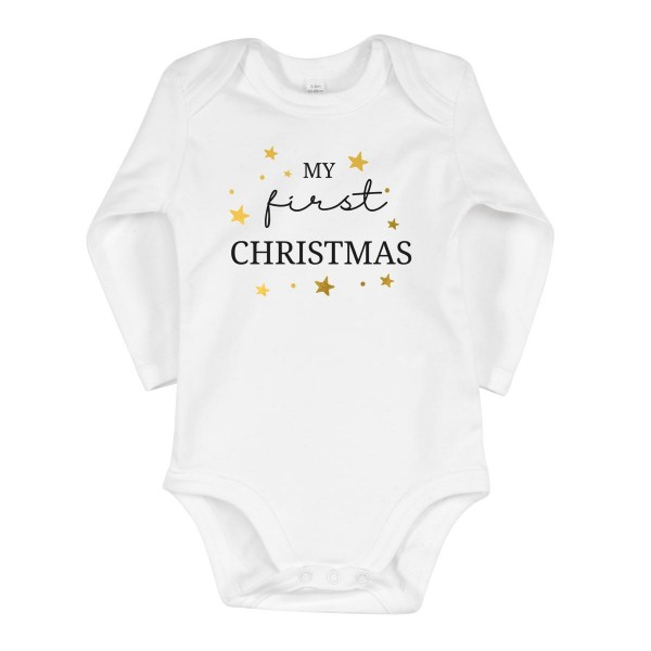 "Baby-Strampler ""My first christmas"""