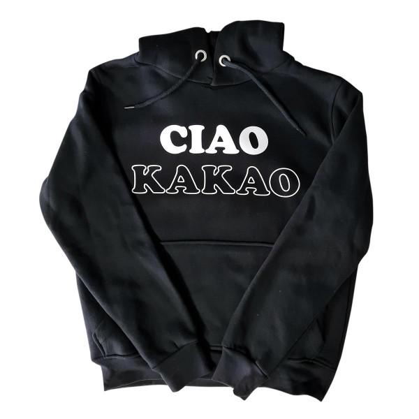 "Hoodie Sample ""Ciao Kakao"" schwarz"