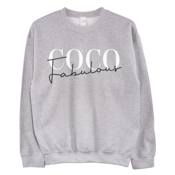 "Pullover ""New Coco Fabulous"""