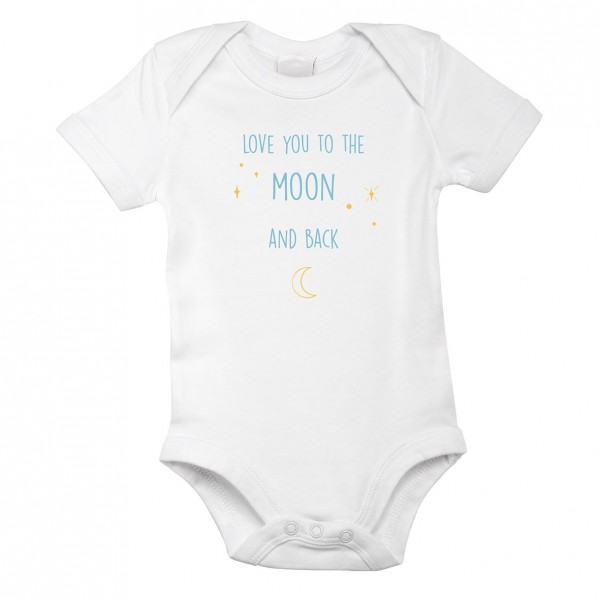 "Baby-Strampler ""To the moon and back"""