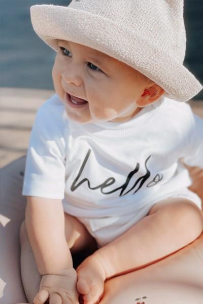 """Baby/Kids T-Shirt """"Hello - Goodbye"""""""