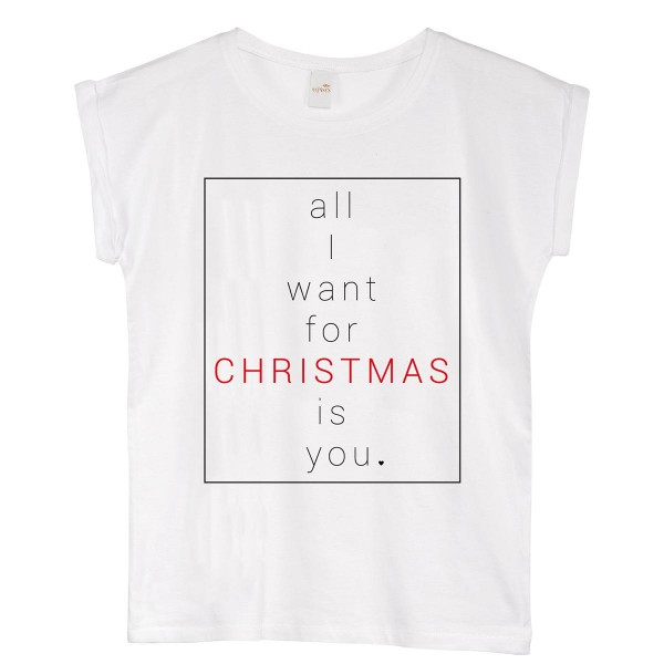 "T-Shirt ""All i want for christmas"""