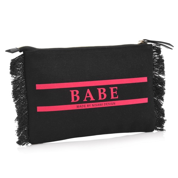 NISAWI Summer Clutch (black)