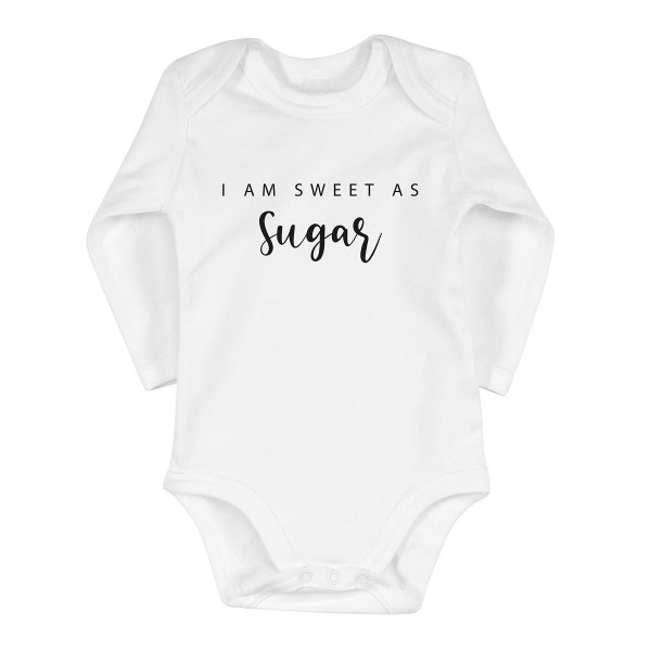 """Baby-Strampler """"Sweet as sugar"""""""