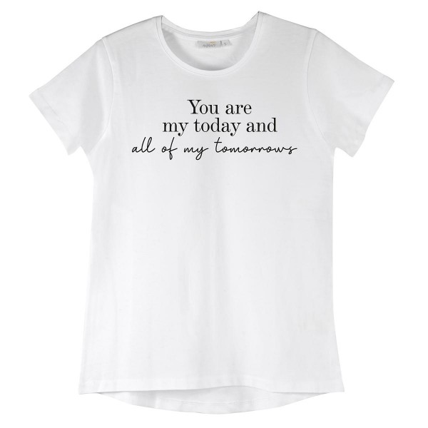 """NISAWI T-Shirt """"You are my today"""""""