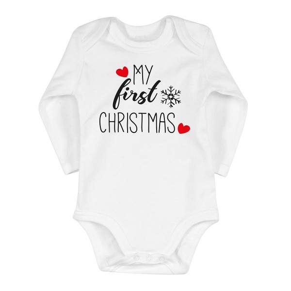 "Baby-Strampler ""First Christmas"""