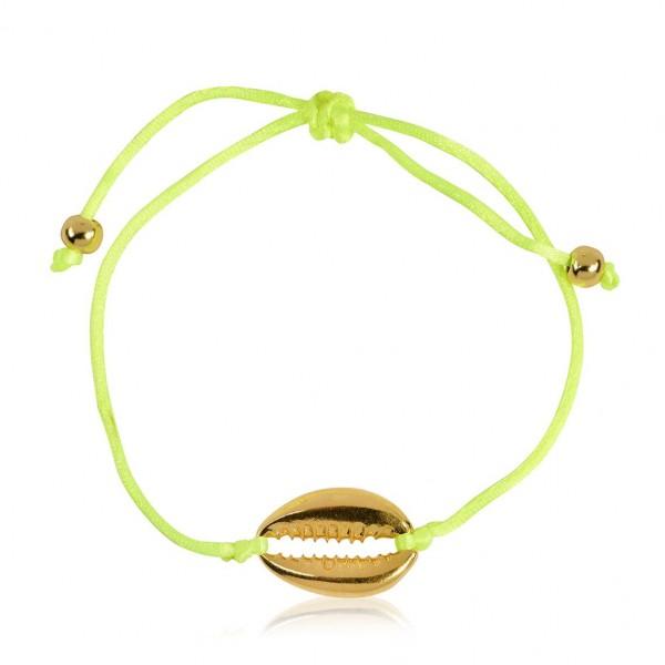 """Armband """"Muschel Gold"""""""