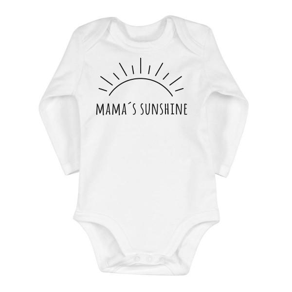 """Baby-Strampler """"Mama's Sunshine"""""""