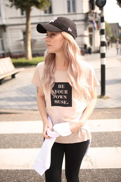 """NISAWI T-Shirt """"Your own muse"""""""