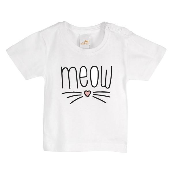 "Baby/Kids T-Shirt ""Meow"""