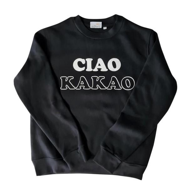 "Pullover Sample ""Ciao Kakao"" schwarz"
