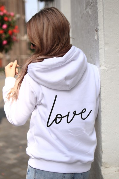 """NISAWI Hoodie """"All i need is love"""""""