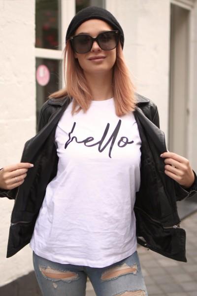 """NISAWI T-Shirt """"Hello - Goodbye"""""""