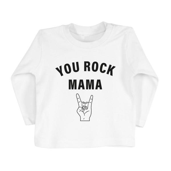 "Kinder Longsleeve ""You Rock Mama"""
