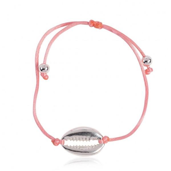 """Armband """"Muschel Silber"""""""