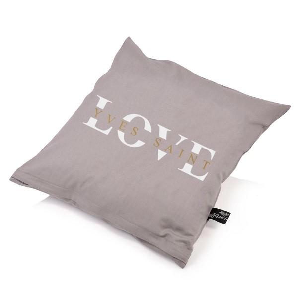 "Kissenbezug ""Yves Saint Love"""