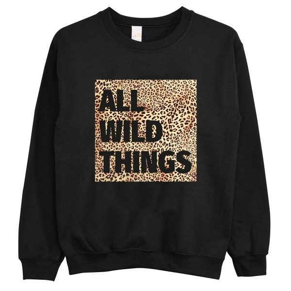 "Pullover ""All Wild Things"""