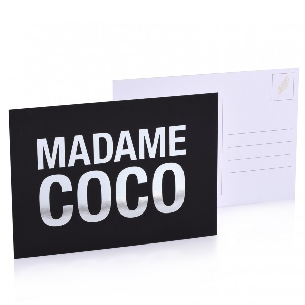 "Postkarte ""Madame Coco"""