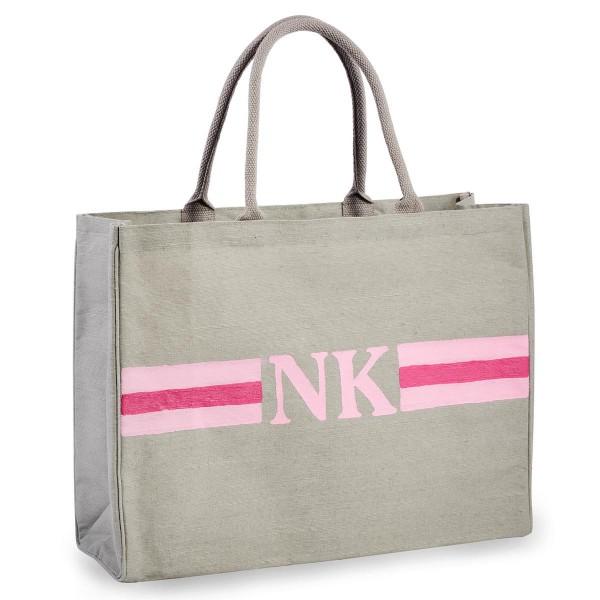 "Shopper ""Stripes Rosa / Pink"""