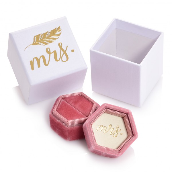 "Ringbox ""Mrs"""