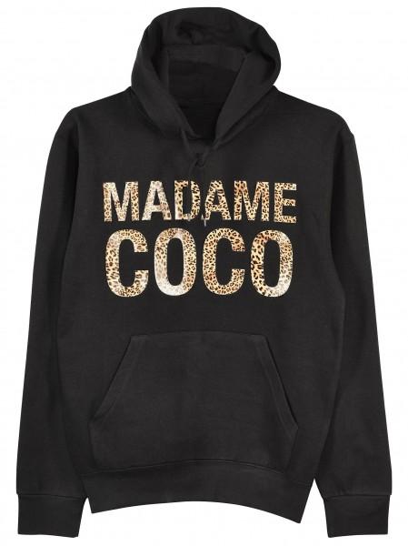 "Hoodie ""Madame Coco Leo"""