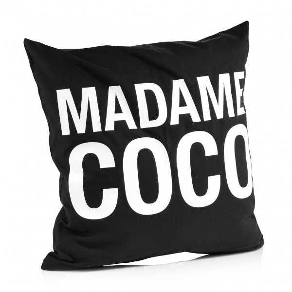 "Kissenbezug ""Madame Coco"""
